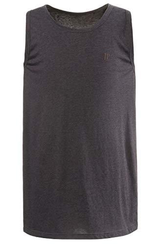 JP 1880 Herren große Größen bis 8 XL, Basic Unterhemd, Tanktop, Ärmellos, Rundhals, anthrazit-Melange XL 705145 11-XL