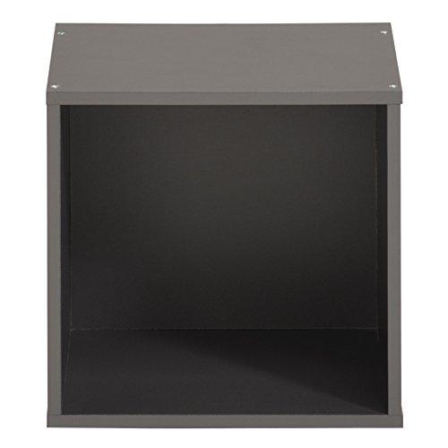Parisot Cube 1 Case - Kubikub - Gris Ombre - l 30 x P 20 x H 30 cm