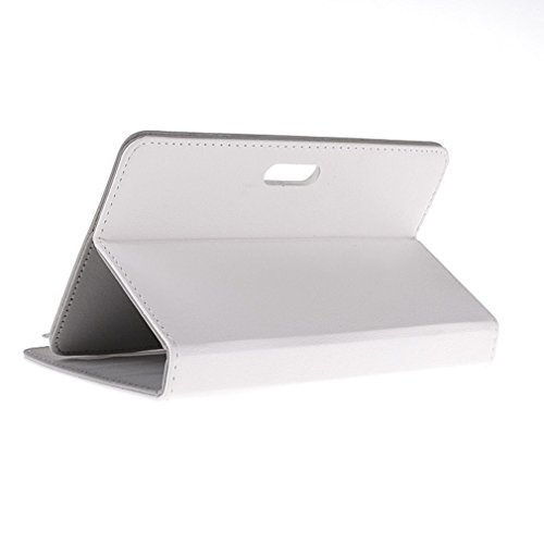 BRALEXX Universaltasche für Tablet PC passend für ARCHOS 70 Helium, Weiß 7 Zoll