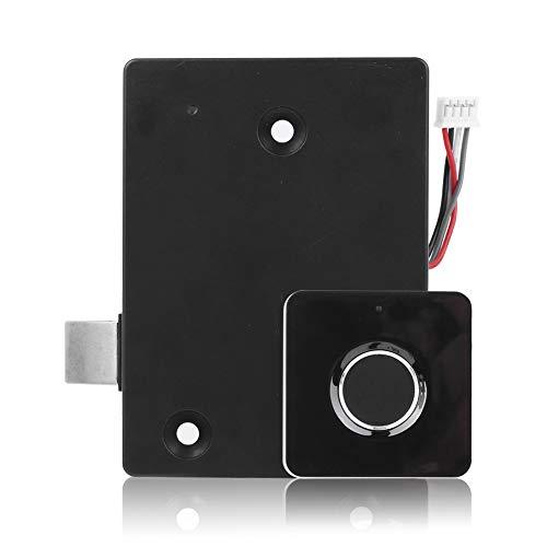 Candado biométrico elegante de la huella dactilar, cerradura sin llave USB recargable para el armario del cajón del gabinete de almacenamiento