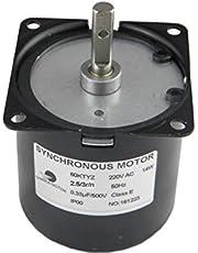 CHANCS 60 KTYZ AC synchrone elektrische reductiemotor 220 V 2.5 RPM CW/CCW 14 W.