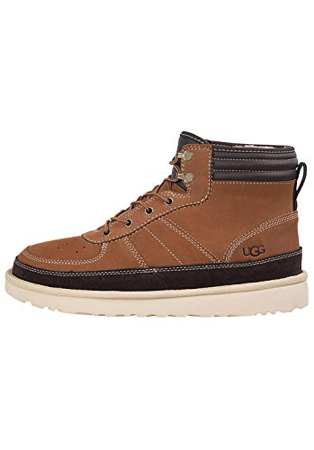 UGG Male Highland Sport Classic Boot, Chestnut, 8 (UK)