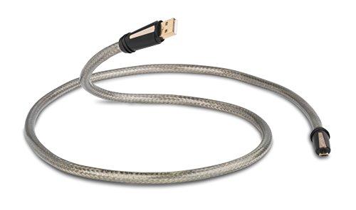 QED qe3250 (New) Cable USB Type A- Micro USB B 0,3 m, Transp
