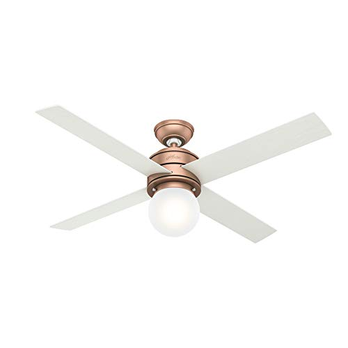 Hunter Fan Company 59330 Hepburn Ceiling Fan, 52, Satin...