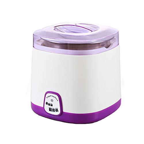 GTJXEY Yogurt Comercial máquina, Acero Inoxidable de DIY Recipiente Interior, 220V 1L...