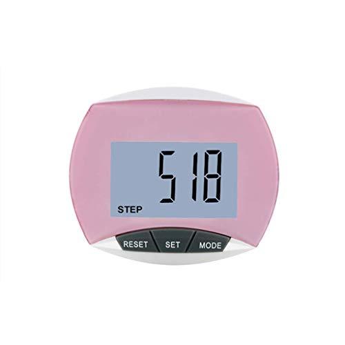 3D Schrittzähler Höchster Qualität Mit Clip, Schrittzähler Ohne App Und Handy, Schrittzähler 3d, Schrittzähler, Fitness Digital Pedometer Wasserdicht, Schrittbewegung Kalorienzähler