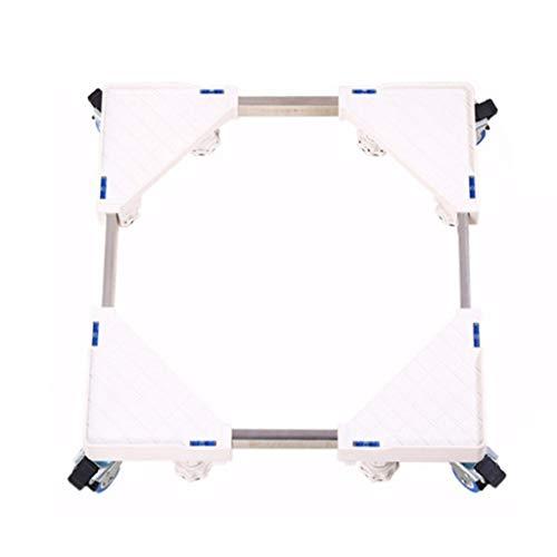 Xiao Jian Washer Pedestals Frames Apparaat zwenkwielen Wasmachine Koelkasten Vriezer Wasdrogers Basis Remmen Dubbel Wiel Vierkant