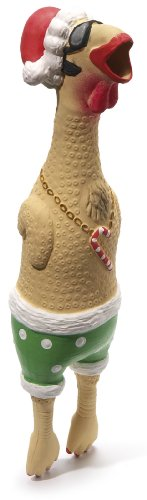 Charming Pet Products Christmas Earl Pet Squeak Toy