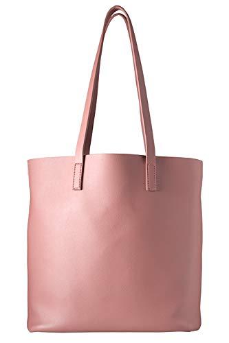 cecilia&bens - Bolso de mano para mujer con bolsillo interior extraíble Color rosa. Talla única