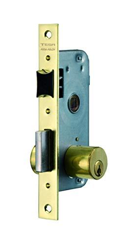 Tesa Assa Abloy 200040HL Cerradura De Embutir Para Puertas De Madera Bronce (Latonado) Entrada 40 mm 2000