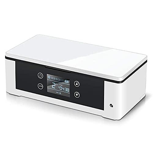 AMAZOM Mini Refrigerador De Medicina Y Refrigerador De Insulina Portátil USB Recargable Refrigerador De Insulina Refrigerador De Viaje Médico Caja De Refrigerador Pequeño