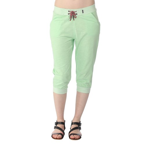 Bench Damen Hose Sweathose Gild Small Green Ash