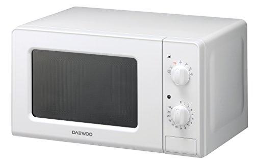Daewoo KOR-6F07 Microondas, 20 litros, manual, sin grill, color blanco