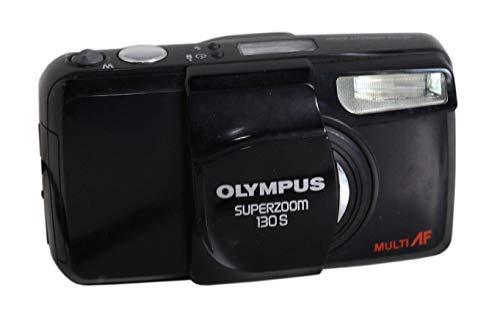 Olympus Multi AF Superzoom 130S Kleinbildkamera in schwarz