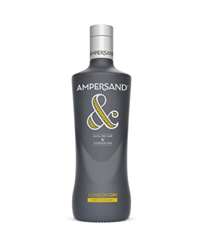Ginebra premium Ampersand London Dry Gin - 1 botella de 70 cl