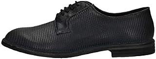 Zapatillas Derby Casual Hombre PAWELK S PAWELS 19004 Piel Azul Original PE New