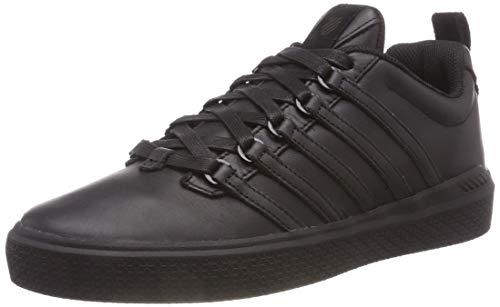 K-Swiss Herren Donovan P Niedrige Sneakers, Schwarz Black 001, 40 EU