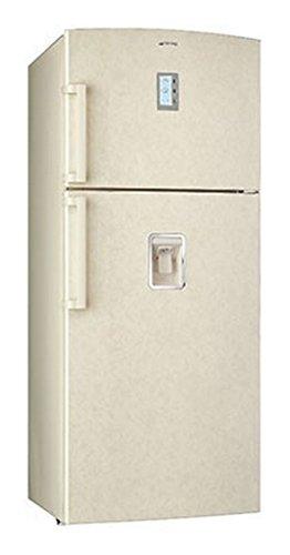 Smeg FD541MNED Libera installazione 498L A+ Beige frigorifero con congelatore