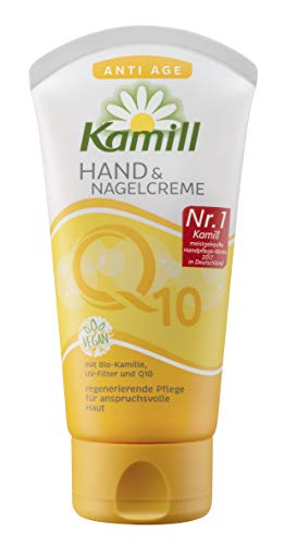 Kamill Hand & Nagelcreme Anti Age mit Q10, 5er Pack (5 x 75 ml)
