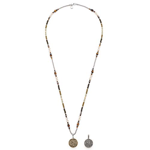 Jewels by Leonardo Damen-Ketten mit Anhänger & Anhänger Edelstahl Glas 016994