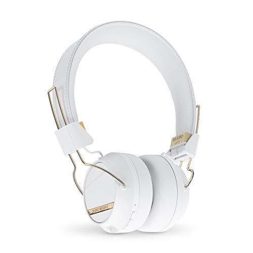 Sudio Regent 2.0, Auriculares inalámbricos Bluetooth, Blanco