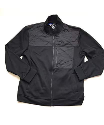 Kenneth Cole Men's Full Zip Jacket Black XL