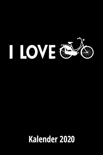 I love Biking Kalender 2020: 2 Seiten = 1 Woche,Terminplaner, Taschenkalender, Kalender, Wochenplaner, Planer, Organizer 2020