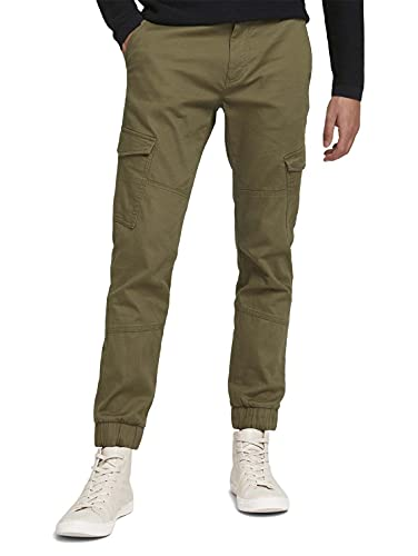 Tom Tailor Denim 1027568 Pantalon de Jogging Cargo,...