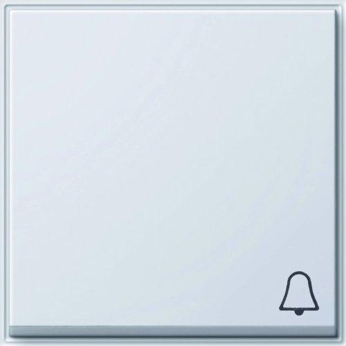 Gira TX_44 (WG UP), 028666 wipvormige bel, zuiver wit