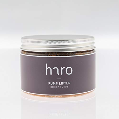 HARO CARE Pure Luxury Booty Scrub, With Walnut Shell Powder, MSM, Rosehip & Jojoba Oil, Targets Stretch Marks, Acne, and Cellulite. 200ml or 300ml (300ml)