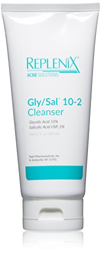 Replenix Acne Solutions Gly/Sal Exfoliating Acne Cleanser, 10 - 2 Acne Cleanser