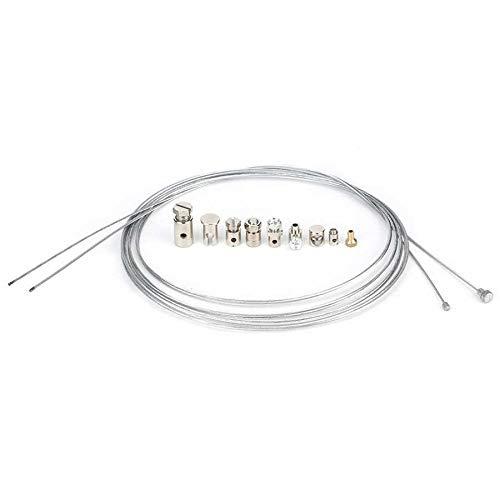 BGTR Kit de reparación de Cables de Freno del Acelerador Universal del Acelerador con los pezones Universal Partes Universal Motoccycle Accesorio