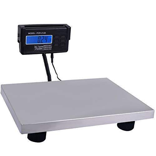 Scala 300kg 660lb Digitale Spedizione Postale Bilancia Industriale Heavy Duty Posta-pacchi Ufficio Piano Bilancia da banco a Cristalli liquidi di...