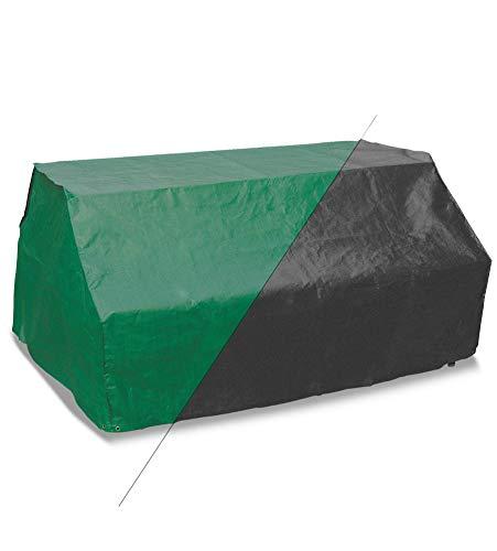 Bosmere Products Ltd P425 Protection d'écran Plus Siège 6 Table de Pique-Nique Housse réversible – Vert/Noir