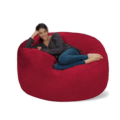 Guoxy, sacco a sacco in schiuma gigante Niture divano grande, rivestimento in morbida microfibra senza imbottitura, B