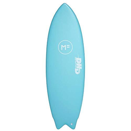 Mick Fanning DHD - Tabla de Surf Doble, 5' 8