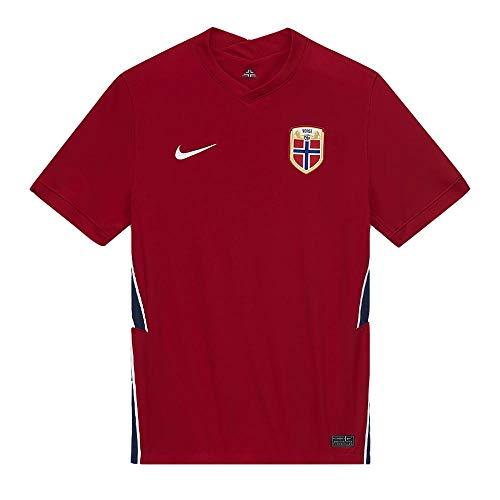 of nike soccer shirts Nike 2020-2021 Norway Home Football Soccer T-Shirt Jersey (Kids)