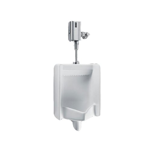 Toto UT445U#01 Commercial Washout High Efficiency 0.125 GPF Cal-Green Urinal with Top Spud, White White
