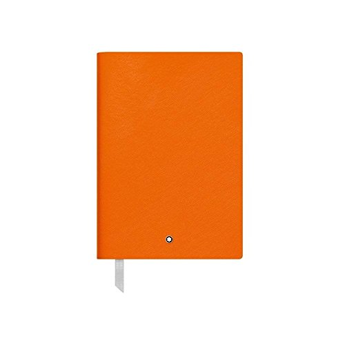 Mont Blanc NOTEBOOK 116225 fine Stationery # 146/pelle Taccuino A5 a righe con Soft Cover/Colore: Lucky Arancione/192 pagine