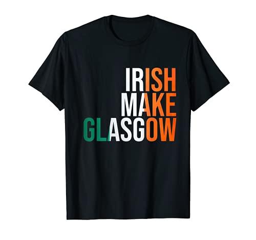 IRISH make Glasgow Celtic Scotland T-Shirt