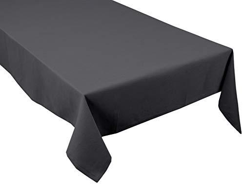 Tom Tailor T-CLASSIC NATURE tafelkleed, textiel, antraciet, 150x250 cm