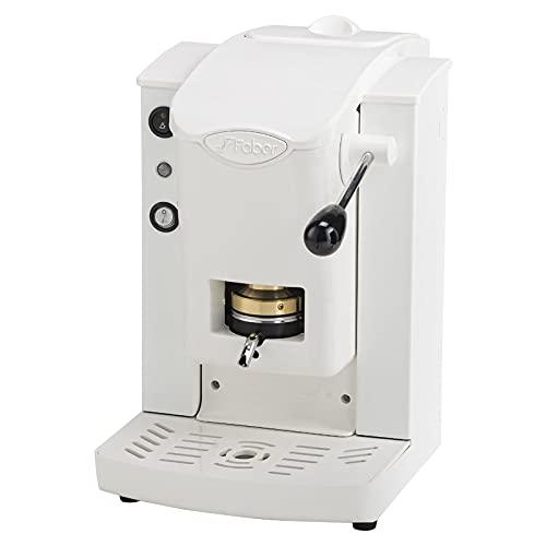 Macchina caffè a cialde ESE 44MM Faber Slot Plast ORIGINALE BIANCA BIANCA