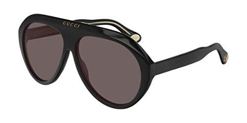 Gucci Gafas de sol GG0479S 001 negro tamaño de 61 mm de gafas de sol hombre