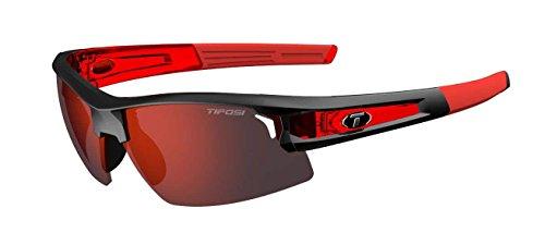 Tifosi Synapse Interchangeable Lens Gafas, Unisex Adulto, Rojo Carrera/Clarion Red, Talla única