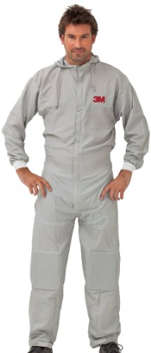 3M Prenda de protección lavable para trabajos de pintura en poliéster talla XXL, 50425