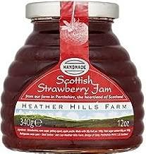 Heather Hills Scottish Strawberry Jam Case of 4 X 340g