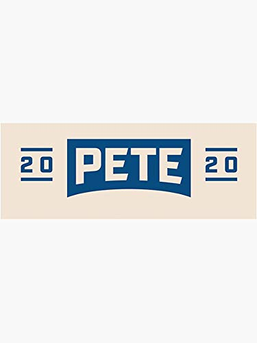 "Mayor Pete Buttigieg for President 2020 - Sticker - 5"" Sticker Graphic -Auto Wall Laptop Cell Truck Sticker - Easy Stick Sticker Graphic"