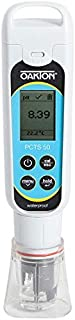 Oakton AO-35634-35 Oakton PCTSTestr 50 Waterproof Pocket pH/Cond/TDS/Salinity Tester, Premium 50 Series