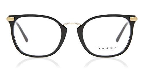 BURBERRY Brille für Vista BE2269 3001 schwarz rahmenmaterial: kunststoff größe 52-mm-brillen-frau
