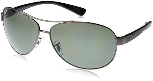 Ray-Ban rb3386_004/9A_63 - Gafas de sol para hombre, gris,...